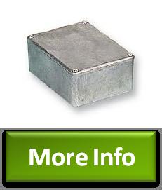 NoFuss Hammond 1590B Aluminum Diecast Case